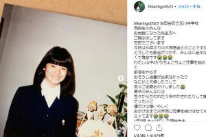 石田ひかり 夫,結婚,子供学校,現在と昔若い頃画像